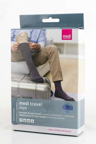 Medi Travel Men Compression Stocking Revascular Box