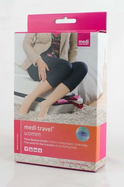 Medi Travel Women Compression Stocking Revascular Box