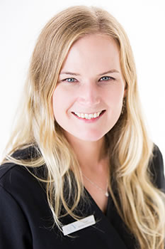 Sharon Mee, Receptionist