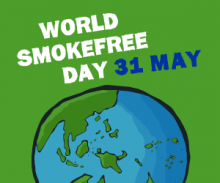 We support World Smokefree Day – 31 May